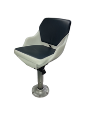 S09U 2000 with navy upholstery Seat shown here on pedestal sold separately.