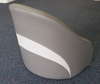 Bolster seat series 2 tan and cream