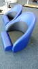 Bolster seat blue jay and black side2