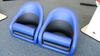 Bolster seat blue jay and black